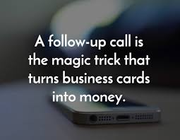 the pocket follow up formula a simple trick for improving s callproof turn business cards to money