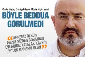 Polis Akademisi'ndeki görevine mahkeme kararına rağmen dönemeyen Önder Aytaç öyle bir beddua etti ki okuyanlar yok artık dediler. - 1357721234-onder-aytac