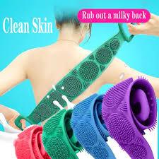 <b>Wash</b> Scrub Gloves <b>Shower</b> Strip For <b>Body Brush</b> Natural Bamboo ...