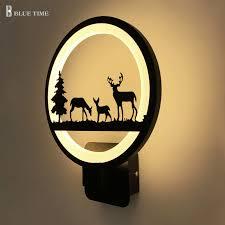 New Design Acrylic <b>Modern LED</b> Wall Lamp With <b>12W Black</b> ...