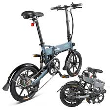 <b>FIIDO D2 16 inch</b> Folding Electric Bicycle for Adult, 6 Speed Shifting ...