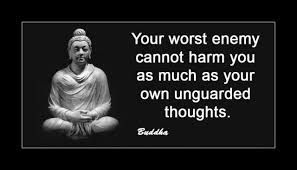 Your worst enemy cannot harm you as much..-Daily Thoughts via Relatably.com