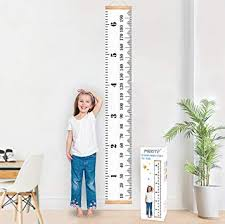 YiGo Baby Growth Chart Canvas Wall Hanging Measuring Rulers ...
