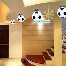 football ceiling lamps abajur soccer ball ceiling lights hanging kids room light switch covers children bedroom lighting