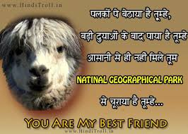 FUNNY HINDI COMMENTS/QUOTES WALLPAPER ON FRIENDSHIP - Hindi ... via Relatably.com