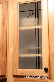 glass door cabinets kitchen