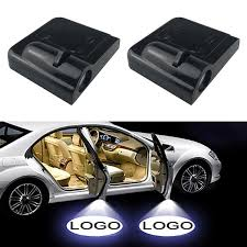 <b>1PCS Universal</b> Wireless <b>Car</b> Door Welcome Light Logo No Drill ...