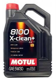 <b>Моторное масло MOTUL</b> 8100 X-clean + 5W-30 5л. <b>синтетическое</b>