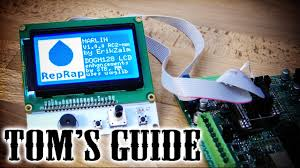 3D printing guides - Setting up a <b>LCD</b> and SD card controller panel ...