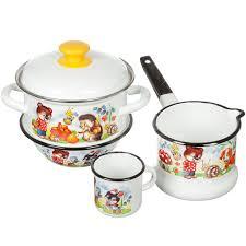 Набор эмалированной посуды Керченский металлургический ...