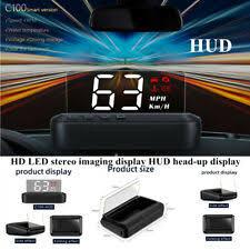 <b>C100 Universal Car</b> HD LED Stereo Imaging Speed Water ...