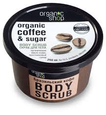 Купить <b>Скраб для тела</b> Organic shop <b>бразильский</b> кофе, 250 мл с ...