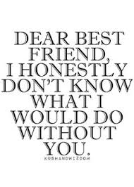 Dear Best Friend on Pinterest | Unexpected Friendship Quotes, Best ...