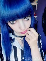 Manic Panic <b>Shocking Blue</b> Hair Dye - HairCrazy.com