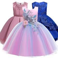 New <b>Anna Elsa</b> Dress Girls Carnival Cosplay Kids Dresses For Girls ...