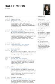 singer resume sample   riixa do you eat the resume last dance instructor resume samples visualcv database