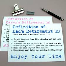 personalised definition of retirement card by sew very english personalised definition of retirement card