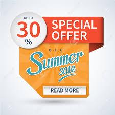 summer banner hot summer template special offer vector summer banner hot summer template special offer vector background summer
