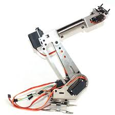 <b>6DOF Mechanical</b> Arm 6Axis Rotating Manipulator Robot Arm ...