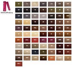 Палитра <b>красок для волос</b>: все профессиональные и масс-маркет