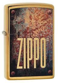 Rusty Plate <b>Design Windproof</b> Lighter | Zippo.com