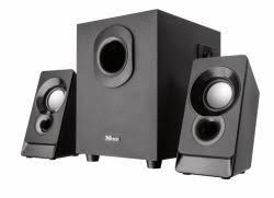 Trust 21038 - <b>Trust Argo 2.1 speaker</b> set 2.1 channels 9 W Black