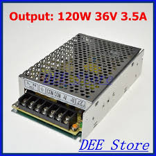Small Volume <b>Led driver 120W</b> 36V 3.5A Single Output Adjustable ...