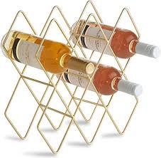 VonShef 8-10 Bottle Wine Rack Freestanding Bottle ... - Amazon.com