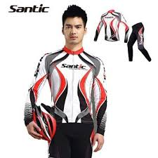 Buy Generic <b>Santic Men's</b> Cycling Bike Bicycle Long Sleeve Jersey ...