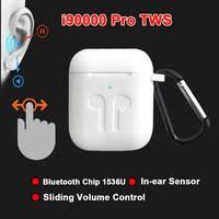 i90000 Pro <b>TWS</b> Arie 2 <b>Wireless</b> Earphone 8D Super Bass Bluetooth ...