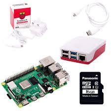 <b>Raspberry Pi 4</b> Model B Starter <b>Kit</b>