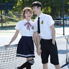 Summer Japanese/Korean Student <b>Suit</b> Cute Girls/Women Cosplay ...
