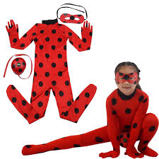 Christmas <b>Ladybug Cosplay</b> Cape Wig Cape Halloween Mask ...