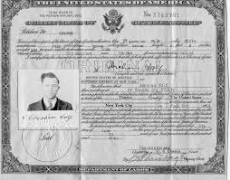 family friday abraham wolf harold and flo abraham wolf s citizenship certrificate