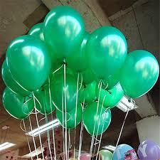 <b>10pcs</b>/<b>lot</b> Thick 1.5g Green Pearl Latex Balloon <b>21</b> Colors Inflatable ...