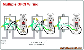 ac outlet wiring diagram gfci outlet wiring diagram house electrical wiring diagram multiple gfci electrical outlet wiring diagram