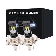 <b>2pcs H4</b>/<b>H4</b>-3/9003 Hi/Lo Beam <b>LED</b> Bulbs Bi-Xenon <b>Headlight</b> ...