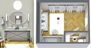 designing bathroom layout: plan your bathroom design ideas with roomsketcher