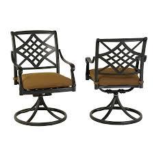 concord swivel glider patio chair santa clara outdoor patio set of swivel rocker dining chair mocha colo