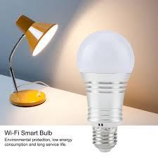 Magic RGB Smart WIFI Led <b>Light Bulb 7W E27</b> B22 E26 E14 Smart ...