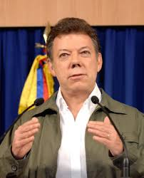 Juan-Manuel-Santos Bogota, July 15 : Colombian president Juan Manuel Santos praised cyclist Nairo Quintana for coming in a respectable second place in the ... - Juan-Manuel-Santos_1