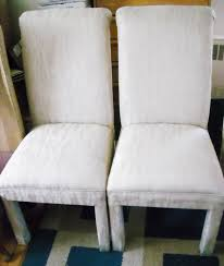 Fabric Dining Room Chair Covers White Linen Dining Room Chair Covers Southernperspectiveszcom