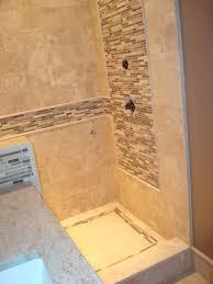 bathroom ideas shower nice travertine