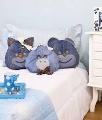 Mr. & Mrs. Jeans cuddle monster toy. | ребёнки) - kiddies | Denim ...