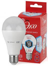 """<b>Лампа LED</b> """"груша"""" Е27 18Вт (1440Лм) 4000К 230В <b>ЭРА ECO</b> ..."""