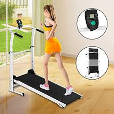 YZT QUEEN Household small foldable mechanical treadmill <b>walking</b> ...