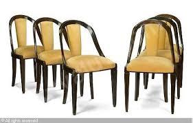 art decodining chairs 6bonhamslos angeles art deco dining chair