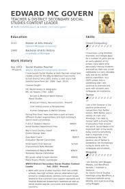 social studies teacher resume samples   visualcv resume samples    social studies teacher resume samples