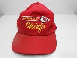 Vintage Annco Kansas City Chiefs Script Snapback <b>Hat Cap</b>. | eBay