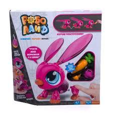 Купить Игрушка <b>РобоЛайф 1TOY Кролик интерактивный</b> Т16228 ...